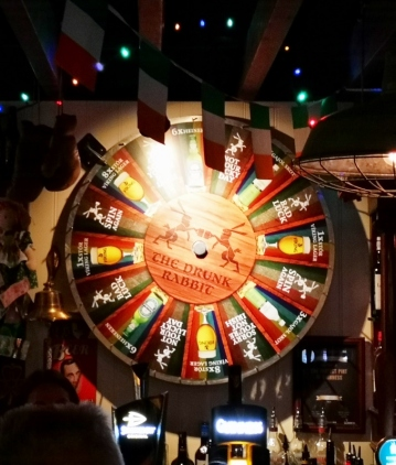 Spin for beer