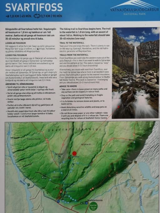 Svartifoss Trail