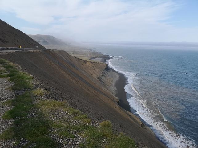 Highway 1 along Iceland's East Coast