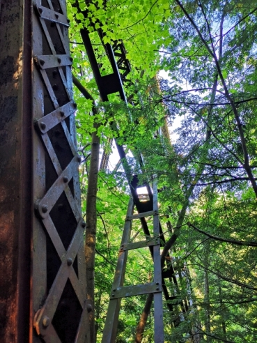 Agate Falls Trestle Bridge