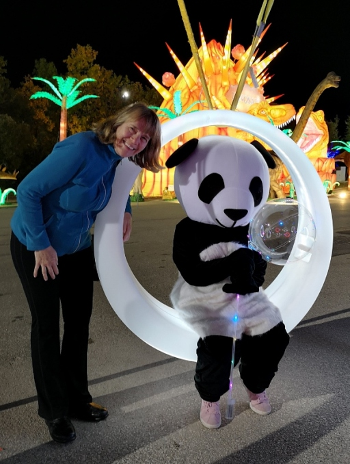 Sharon and the Panda