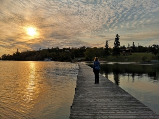 Sunset in Kenora