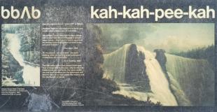 Kakabeka Falls circa 1850