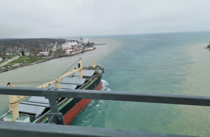 Crossing from Sarnia to Port Huron