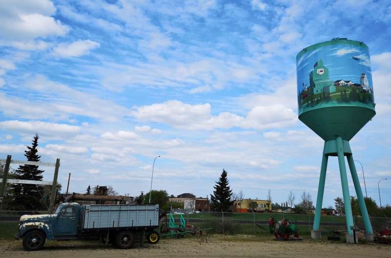 Historic water tower preserved