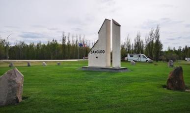 Sangudo Elevator Sundial