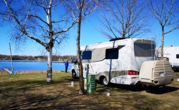 Our site on Fox Lake
