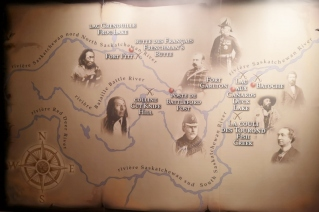 Fort Battleford key historic locations and people