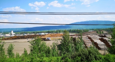 Chetwynd very active logging town