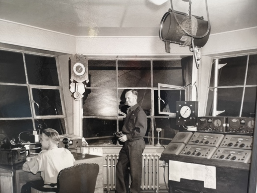 Watson Lake Control Tower 1941