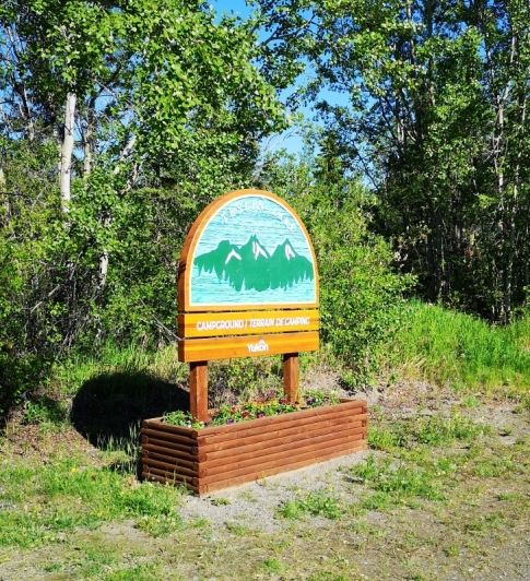Teslin Lake Campground