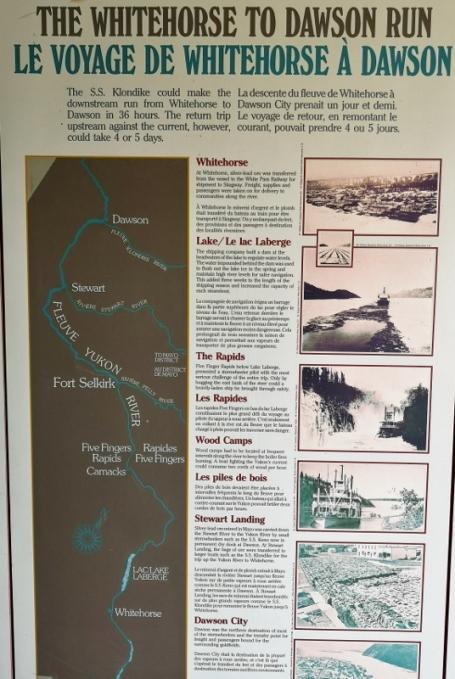 S.S. Klondike route