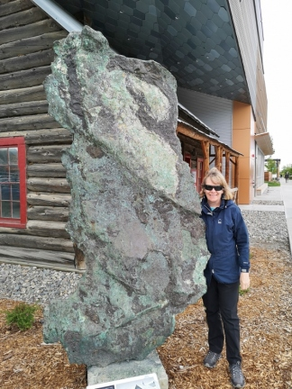 Largest Copper Nugget found in the Yukon at 1175 kgs