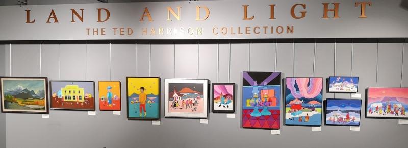 Art gallery in MacBride Museum