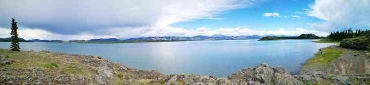 Lake Laberge Panorama