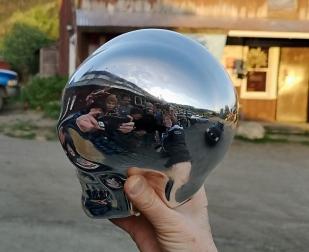 Performer Selfie with Skully
