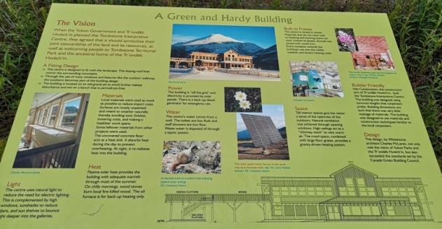 Green Interpretative Centre - off the grid