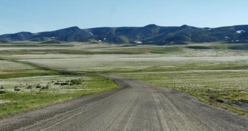 Heading to the Northwest Territories