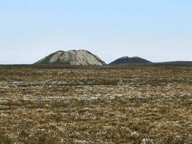Pingos near Tuk