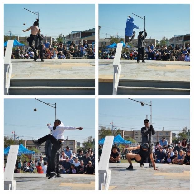 Kick Ball contestants