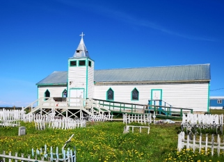 Fort MacPherson church