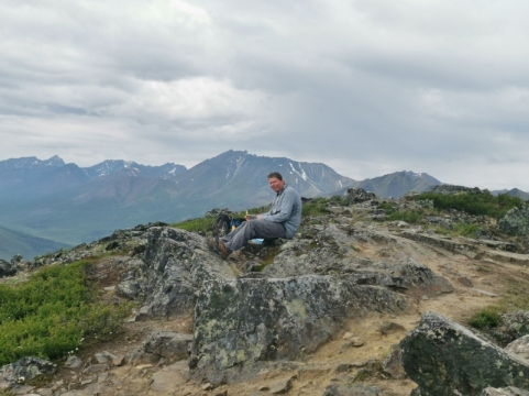 Viewpoint for Goldensides Trail