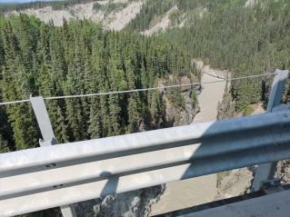 That's a long drop off the bridge