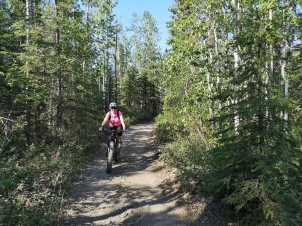 MTB'ing on the wagon trail
