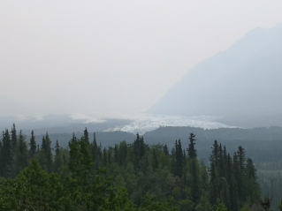 Matanuska Glacier end