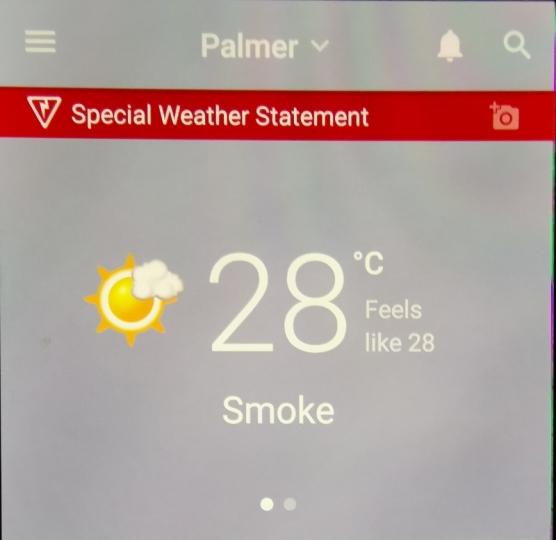 Forecast Smoke;-(