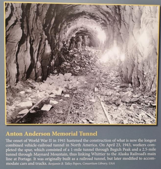 Train Tunnel to Whittier