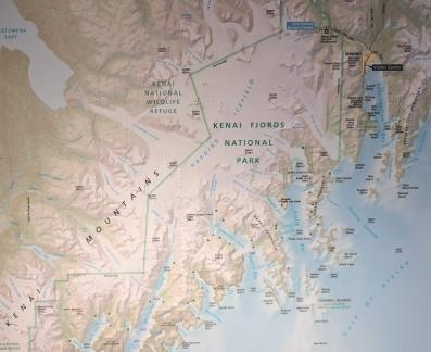 Kenai Fjords NP - Seward top right