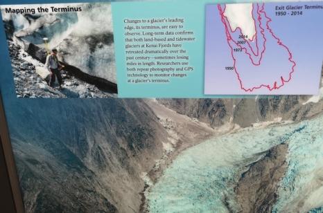 Exit Glacier Terminus changes