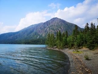 Kenai Lake by our campsite