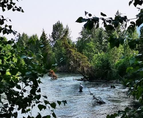 Quartz Creek - flyfishermen