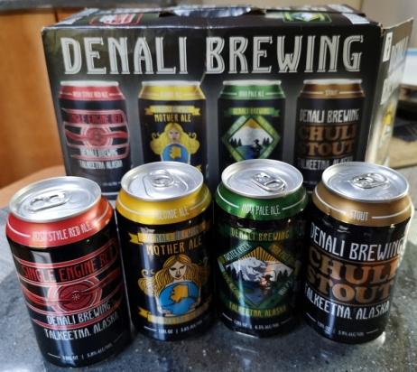 Denali Beer Sampler