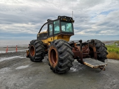 Tractor used for boat launch