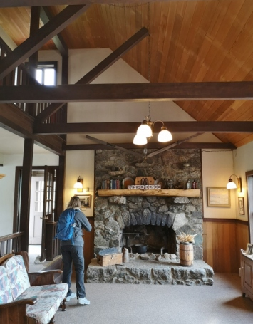 Inside Walter's house
