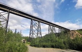 Train Trestle bridge still in use