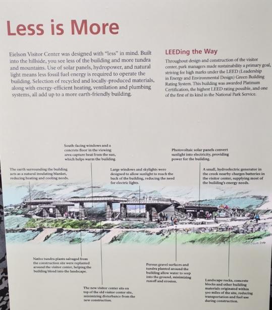 Eielson Visitor Center design guidelines