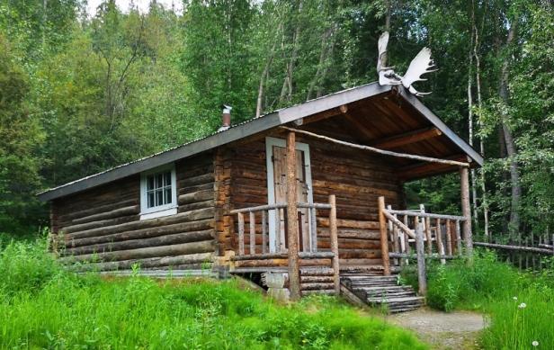Poet Robert Service's Cabin