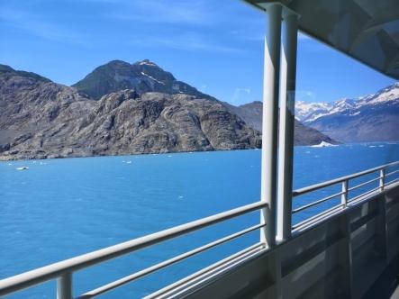 Nearing Columbia Glacier
