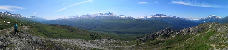 Panorama at Thompson Pass