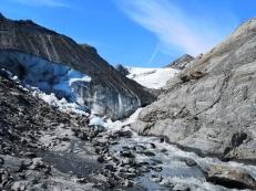 Base of Worthington Glacier