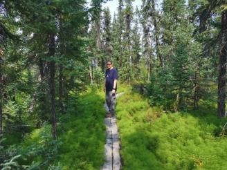 Exploring the Granite Tors trail initial loop