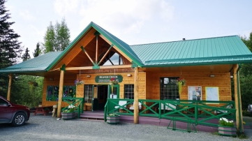 Beaver Creek - Yukon - the most westerly community in Canada