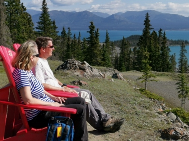 Kluane NP red chairs