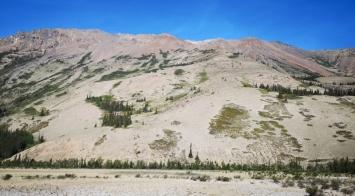 Sheep Mountain - no sheep today
