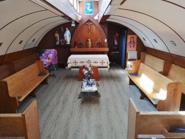 Inside Haines Junction Church