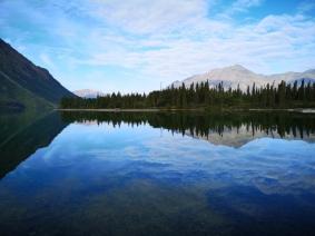 Kathleen Lake reflections